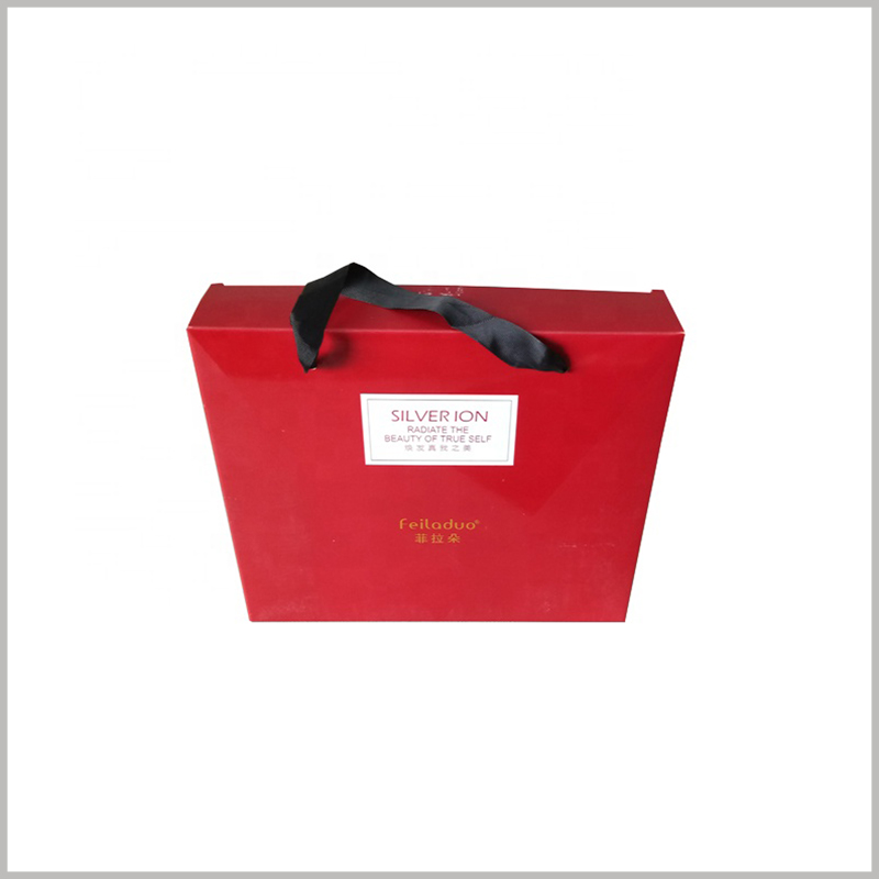 red shampoo packaging box wholesale