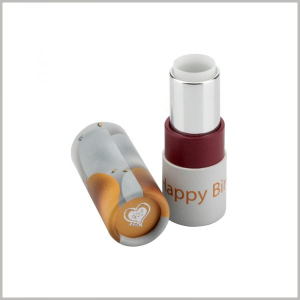 small paper tube for lipstick packaging.There is no need to worry about the size of the paper tube and the lipstick, the standard size of the empty lipstick tube.