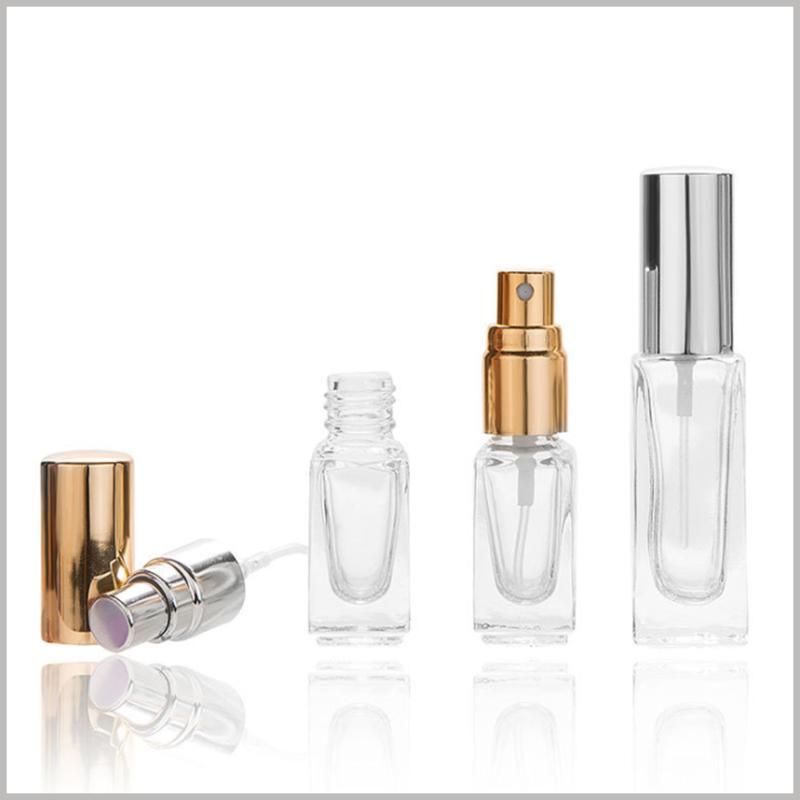 small perfume spray bottle