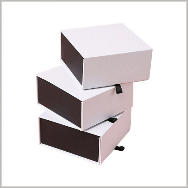 white cardboard boxes packaging wholesale. Customized packaging is used for perfume, and the size of the packaging can be customized according to the specifications of the product.
