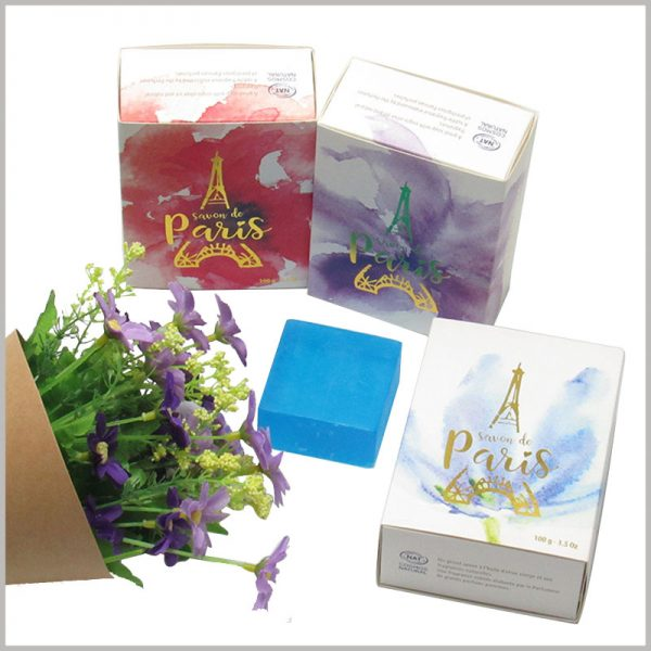 wholesale creative drawer boxes for soap packaging. A variety of soap packaging designs can reflect product differentiation and are an important part of product marketing