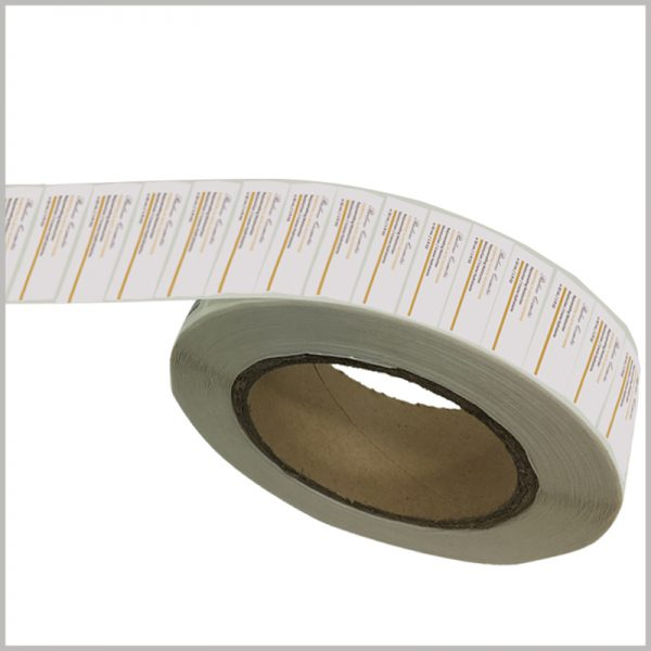 wholesale skin care product labels for moisturizer.Cosmetic labels exist in roll form before use, which makes the labels orderly and more convenient to use.